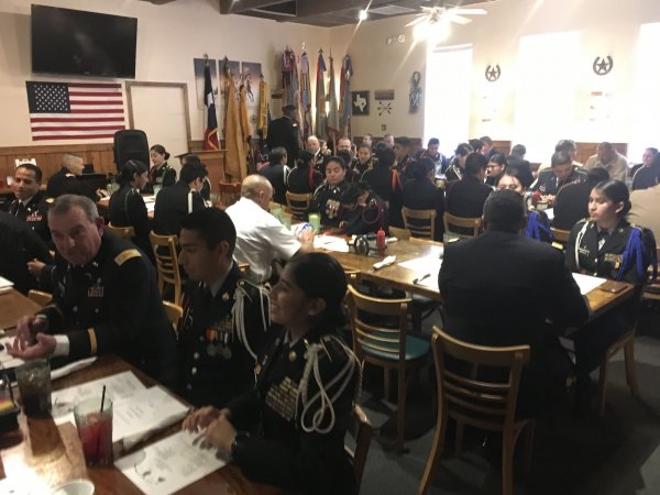 16 Feb 2019 JROTC Recognition Luncheon