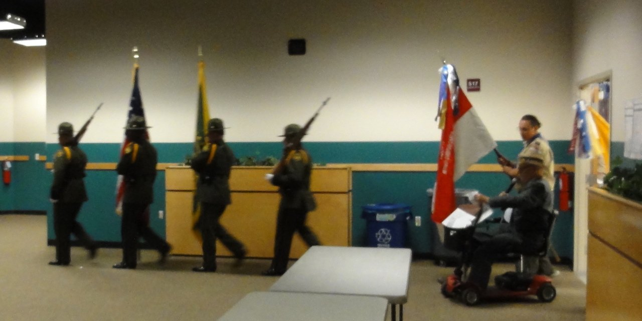 Border Patrol Honor Guards enters the procession.JPEG