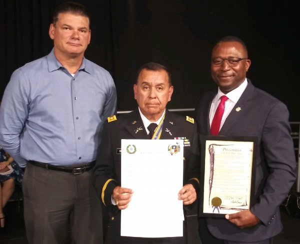 Sheriff Wiles Chapter Commander Beltran and City Representative Morgan.jpg