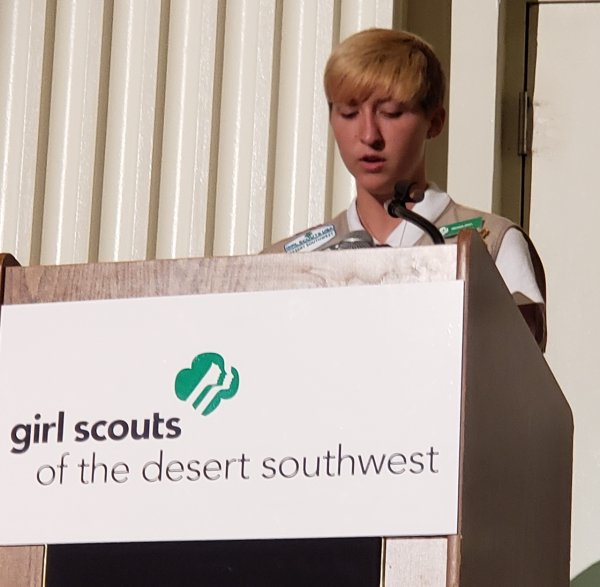 Girl Scout Gold Award Winners