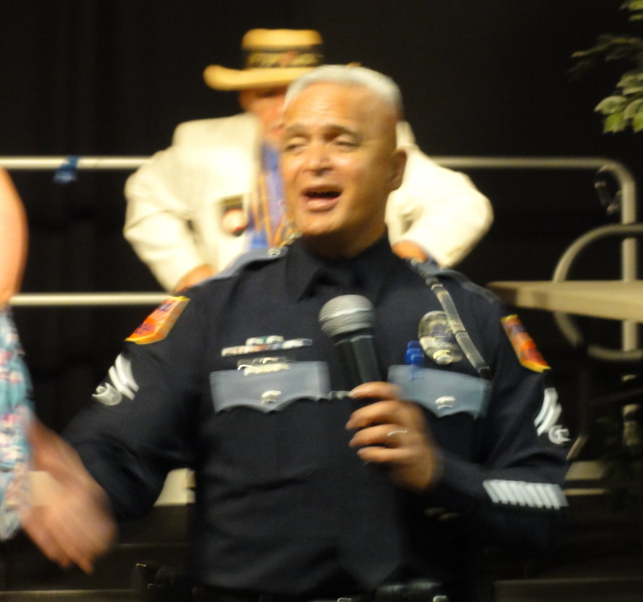 El Paso Police Officer Slade Davis Sings I'm Proud to be an American.JPG