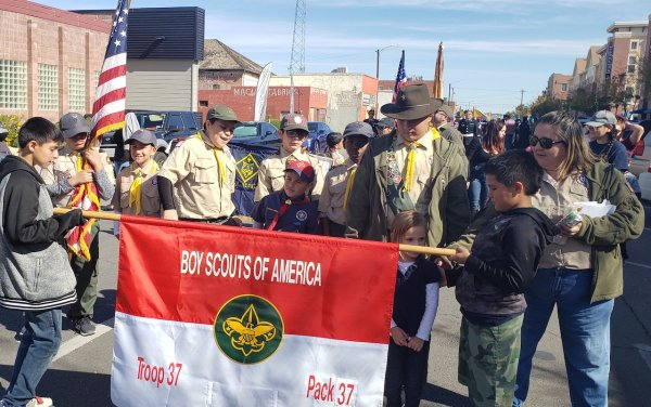 Scout Troop 37 Participates in Veterans Day Parade.jpg
