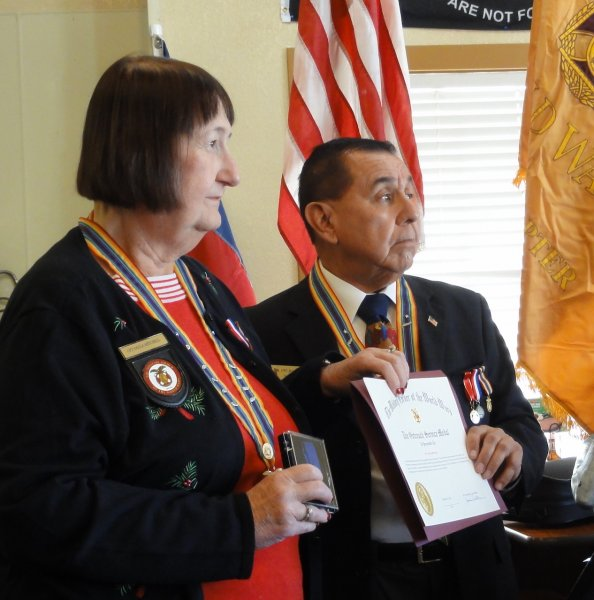 Chapter Commander Jesus Beltran Receives the Outreach Service Medal.JPG