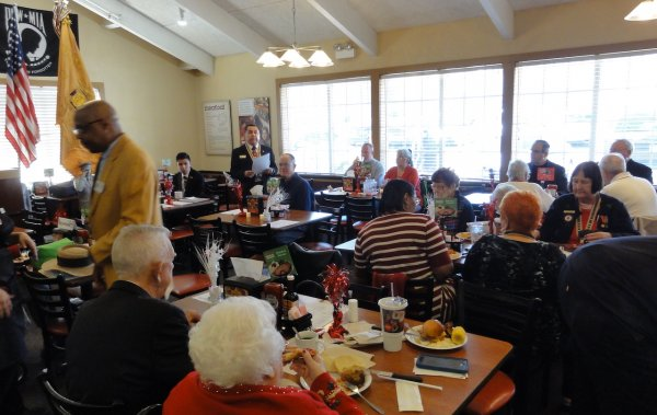 Companions Gather for the Christmas Luncheon.JPG