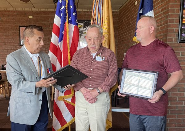 Companion Nelson Receives His Certificate of Appreciation.JPG