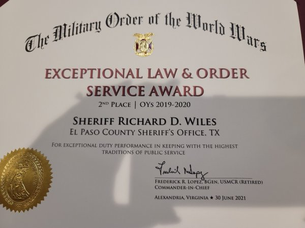 2nd Place Exceptional L&O Sheriff Wiles.jpg