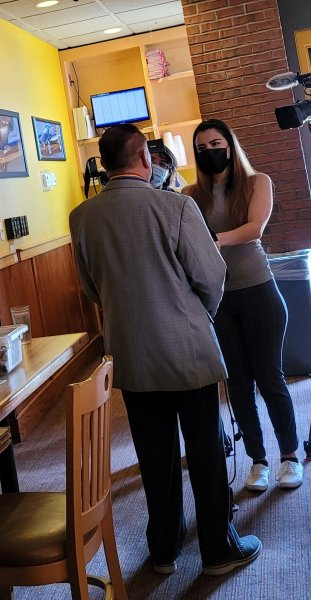 Chapter Cmdr Beltron interviewed by local TV station.jpg