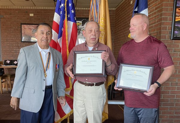 Certificates for ROTC Roundtable.JPG
